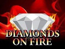 diamonds on fire slot amatic